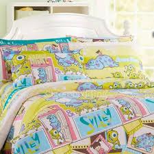 yellow unique patterned high end vintage kids bedding sets