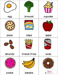 Healthy Vs Unhealthy Food Chart Healthy Foods Worksheet Free Download The Super Teacher