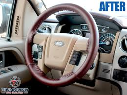 2016 2016 ford f 150 king ranch 2 stitch leather steering wheel cover