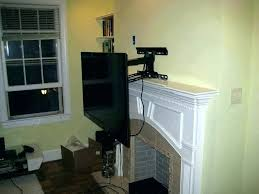 pull down tv mount pull down mount over fireplace fireplace mount pull down ed fireplace mount pull down tv