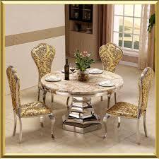 China New Model For Hotel Wedding Glass Dining Table Set With Chairs