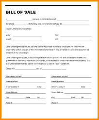Bill Of Sale Auto California Printable Bill Of Sale For Used Car Co Within Template California 7