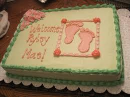 Photo Walmart Baby Shower Cake Image