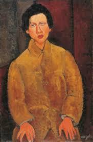 Chaïm Soutine di Amedeo Modigliani - ADO Analisi dell'opera