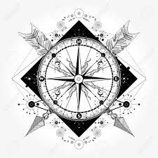 compass design compass tattoo and t shirt design compass and crossed arrows