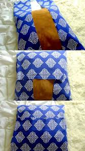 diy no sew pillow 10 minute project that costs less than a drink at starbucks