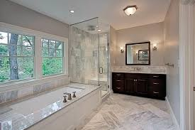 granite tub surround bathroom traditional with corner dimmable wall sconces