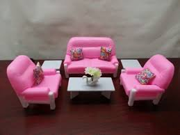 gloria barbie doll house furniture 94014 living room play set ebay barbie furniture for dollhouse
