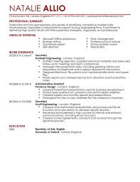 Secretary Resume Template Best of Secretary Admin Assistant CV Example For Admin LiveCareer
