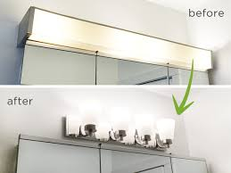 affordable bathroom lighting. Collection In Update Bathroom Lighting Our Budget Let There Be Light Part 2 Rather Affordable L