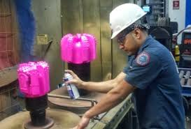 hughes oil drill bit. fracking company launches pink drill bits for breast cancer awareness - your community hughes oil bit t