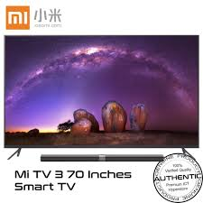 tv 70 inch. xiaomi 70-inch 4k uhd mi tv 3 smart led android ultra slim ( tv 70 inch