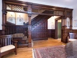 Washinton DC Richardson Romanesque Victorian interior known as the 'A.S.  Gillett Mansion' built c. 1890. Gothic interior design