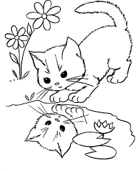 Small Picture Minnie Splashing Water Coloring Page Cartoon pages of