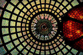 tiffany dome in chicago another illinois feat of stained glass