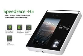 Biometric System - Essl Speed Face-H5 Face Recognition With ...