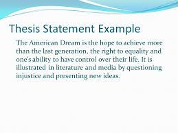 personal essay ppt video online  thesis statement example