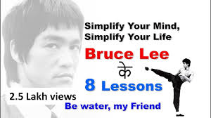 Simplify Your Mind Simplify Your Lifebruce Lee क 8 Lessons Motivational Video In Hindi