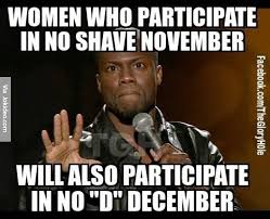 No shave november meme | Funny Dirty Adult Jokes, Memes & Pictures via Relatably.com