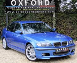 BMW 3 SERIES 325i M SPORT INDIVIDUAL ESTORIL BLUE for sale from ...