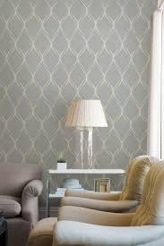 Gustav Grey Geometric Wallpaper Living Rooms Bedroom Wallpaper