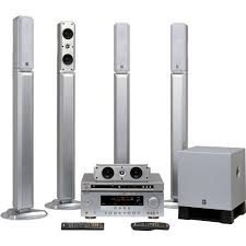 home theater yamaha. yamaha yht-685sl 5.1-channel home theater system