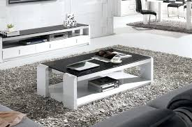 high gloss white coffee table innovative black and white coffee table manson rectangular high gloss white
