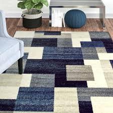 black and blue area rug block blue gray area rug blue black area rug