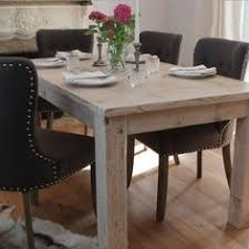 this stunning whitewashed handcrafted reclaimed wood dining table es with optional table extensions bespoke sizes available