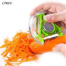 <b>CTREE Vegetable Fruit</b> Peeler Paring Knife Slicer Triple <b>Fruit</b> ...