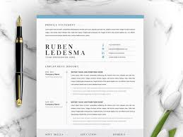 Modern Resume How Far Back Work History Cv Template With Word Cover Letter By Resume Templates On