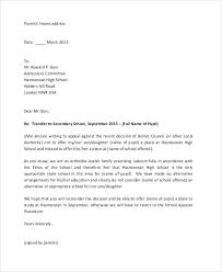 Va Appeal Letters Va Appeal Letter Sample Format For Letter Of Appeal Ready Format For