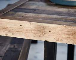 grant reclaimed wood console table