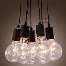 diy room lighting. Vintage American Style Bulb Pendant Light Diy Living Room Lights Glass Lighting Fitting