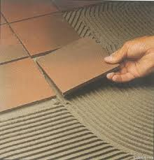 photos of adhesive for ceramic floor tile