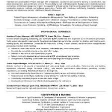 It Project Manager Resumes Updated Assistant Project Manager Resume ...