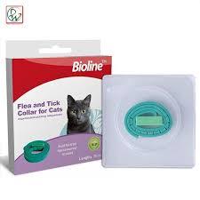 bioline cat collar flea and tick collar for cats green
