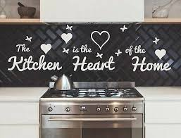 kitchen wall decal quote the kitchen is