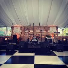 band production for weddings set dressing suffolk marquee