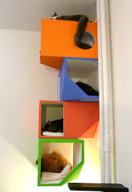 catissa by mojorno contemporary fourstory house for urban cats cats cattree cat tree j3