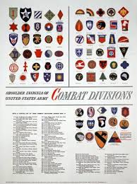 Us Military Insignia Chart Us Army Shoulder Insignia