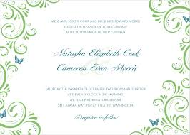 formal invitations templates personalized wedding formal green floral wedding invitation template please this website