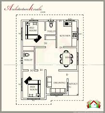 2 bedroom house plans kerala style 900 sq feet