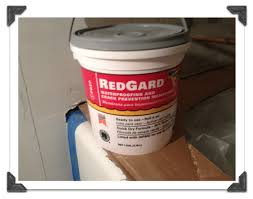 use redgard to waterproof cement board in bathtub or showers