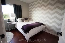 Great Diy Chevron Room Decor Source · Chevron Bedroom Wall Photos And Video  WylielauderHouse Com