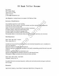 Awesome Collection Of Teller Resume Objective Resume Objective