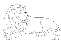 Small Picture Printable 24 Realistic Lion Coloring Pages 7507 Realistic Lion