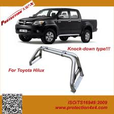 China Stainless Steel Roll Bar for Toyota Hilux Pickup Truck - China ...