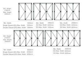 sliding door sizes standard width medium size of doors and windows pocket frame johnson sl