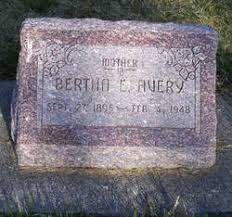 Bertha Eames Avery (1895-1948) - Find A Grave Memorial